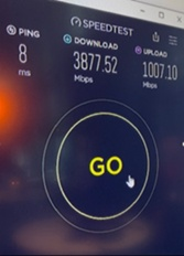 Speedtest screenshot
