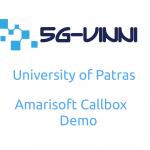 Patras5G/5G-VINNI facility site Greece demonstrates Amarisoft 5G