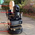 E2E Robotic Telepresence Experiment