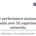White paper on Service Performance Measurement Methods over 5G Experimental Networks